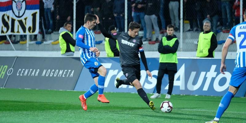 Zagreb: Lokomotiva - Hajduk 0:1
