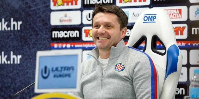 Konferencija za medije uoči Hajduk - Rijeka