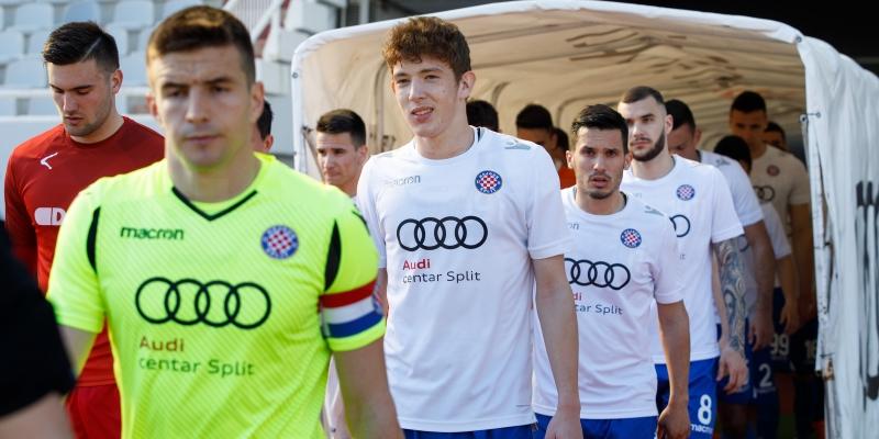 Hajduk II gost na svečanom otvorenju novouređenog stadiona u Trogiru