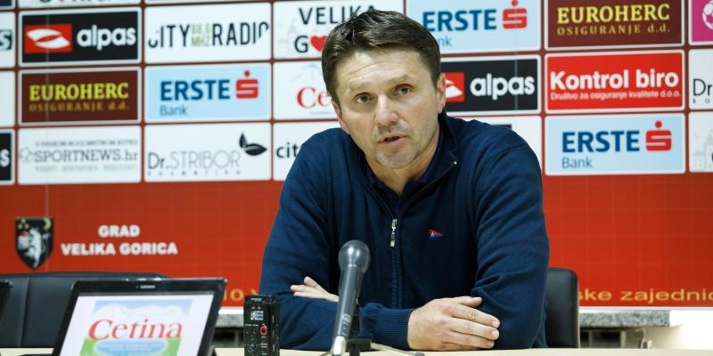 Trener Oreščanin nakon utakmice Gorica - Hajduk