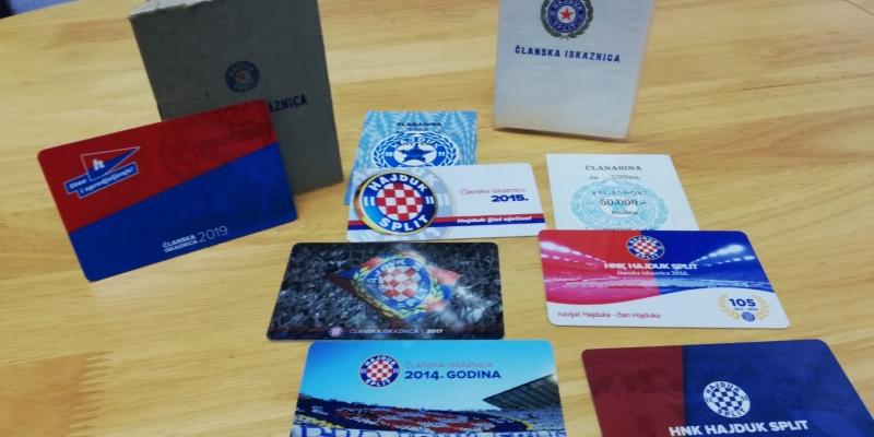 Otvoren natječaj za dizajn Hajdukove članske iskaznice za 2020. godinu