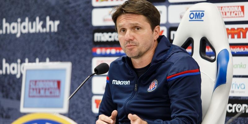 Coach Oreščanin ahead of Rudeš - Hajduk