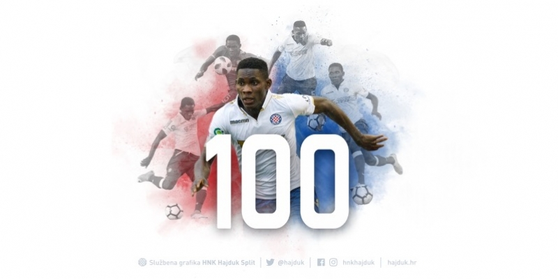Hamza Barry odigrao 100. utakmicu u bijelom dresu!