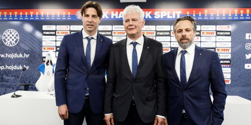 Konferencija za medije predsjednika Uprave HNK Hajduk Marina Brbića