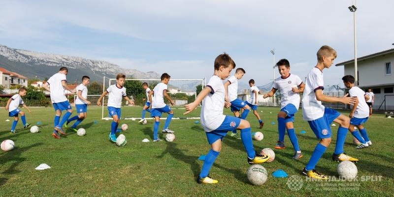 """HNK Hajduk organizira """"Nogometni kamp za dječake"""" u Dubrovniku"""