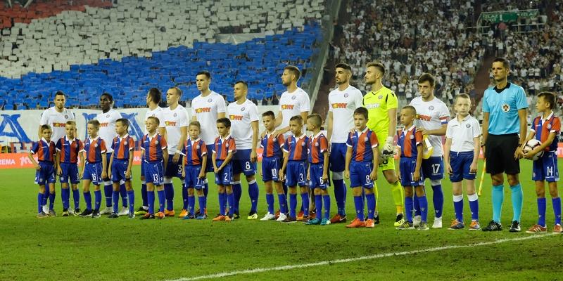 Hajduk's fixtures in July and August