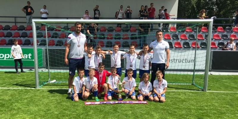 Mlađi početnici osvojili treće mjesto na turniru Kustošija 2019.