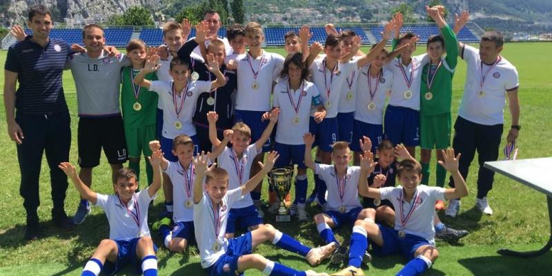 Mlađim pionirima naslov prvaka Dalmacije