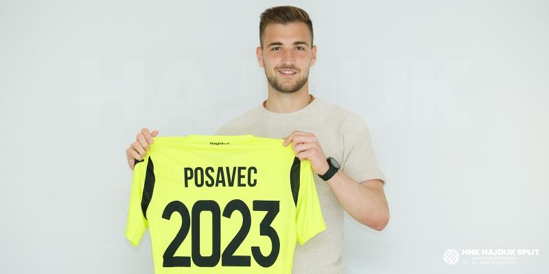 Hajduk signed Posavec until the summer of 2023!