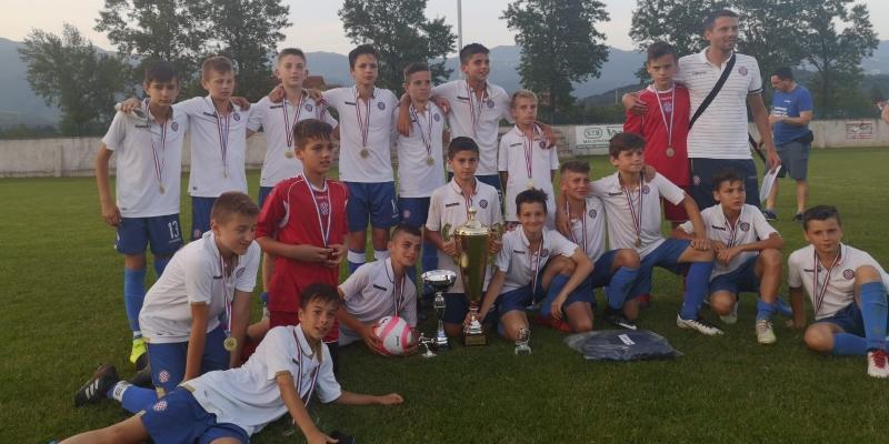 Mlađi pioniri II osvojili turnir u Rijeci