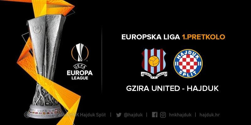 Hajduk protiv malteške Gzire United u 1. pretkolu Europske lige