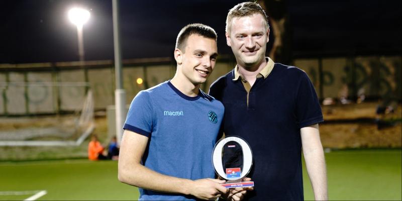 Darko Nejašmić proglašen najboljim igračem prošle sezone po izboru članova Kluba