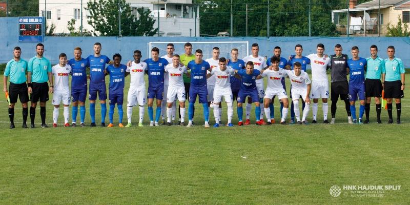 Prijateljska utakmica: Solin - Hajduk 1:4