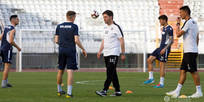 Hajdukovci krenuli na drugi dio priprema u Sloveniju