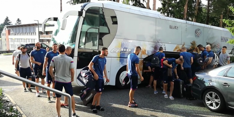 Hajdukovci stigli na Pohorje