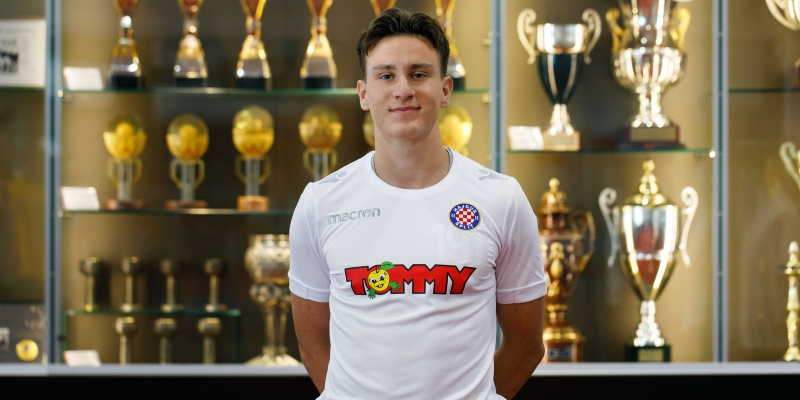 Ivan Dolček a new Hajduk player!