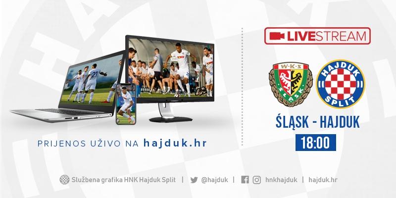 Cijela utakmica: Śląsk Wrocław - Hajduk