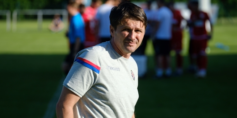 Coach Oreščanin after Zorya - Hajduk