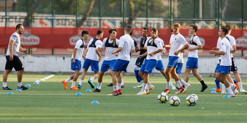 Početak priprema druge momčadi i mlađih selekcija