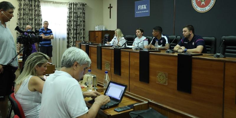 Konferencija za novinare uoči Gzira United - Hajduk