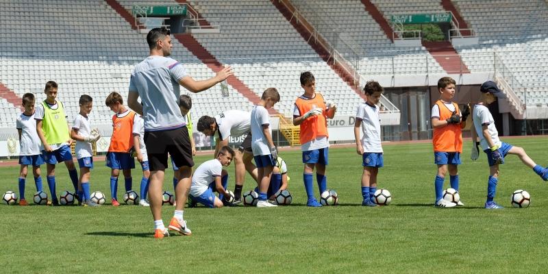 Polaznici Hajdukovih kampova bit će uzvanici Kluba na utakmici s Istrom 1961