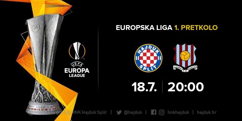 Hajduk vs Gzira United match officials