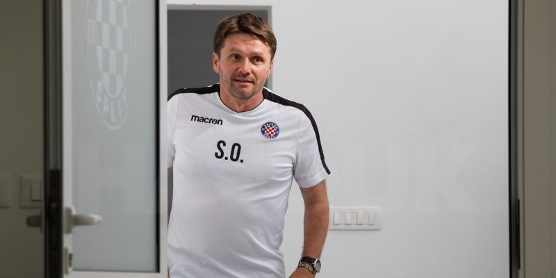 Siniša Oreščanin više nije trener Hajduka