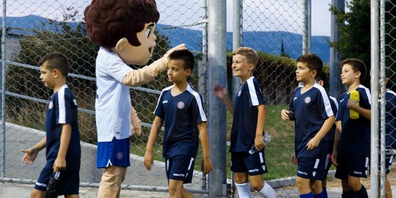 Započeo prvi tjedan Hajduk Summer Football School, polaznici trenirali i družili se s Ricom