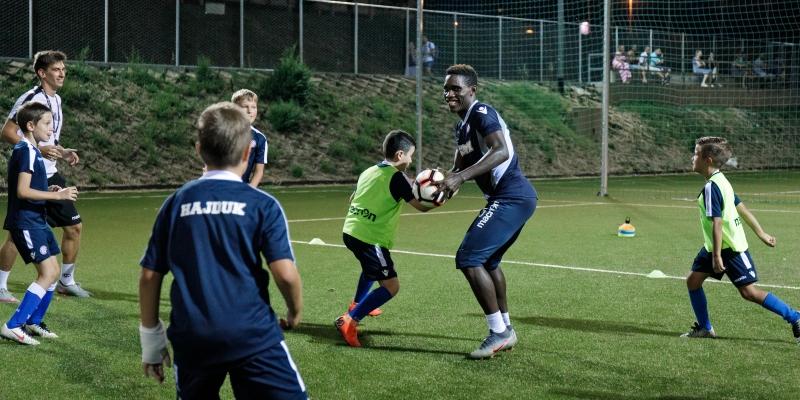 Caktaš, Hamza i Simić iznenadili polaznike Hajduk Summer Football School