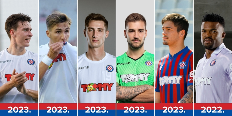 Summer transfer window: six engaged and one released player