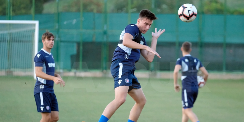 Preparations for Koprivnica: two-a-day workout on Wednesday