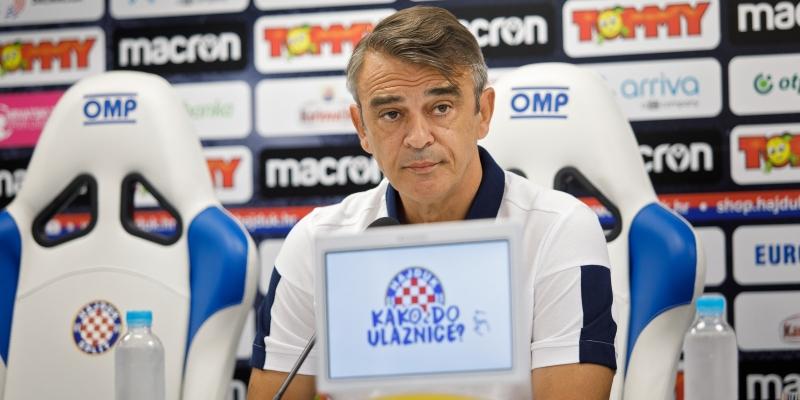 Konferencija za medije trenera Burića uoči prvenstvenog dvoboja u Koprivnici