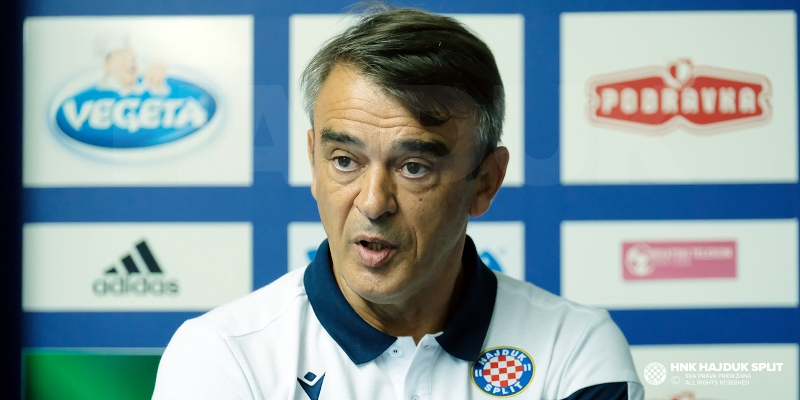 Coach Burić about the match with Slaven Belupo