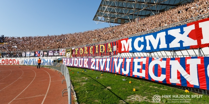 Tickets for Hajduk - Dinamo now on sale!