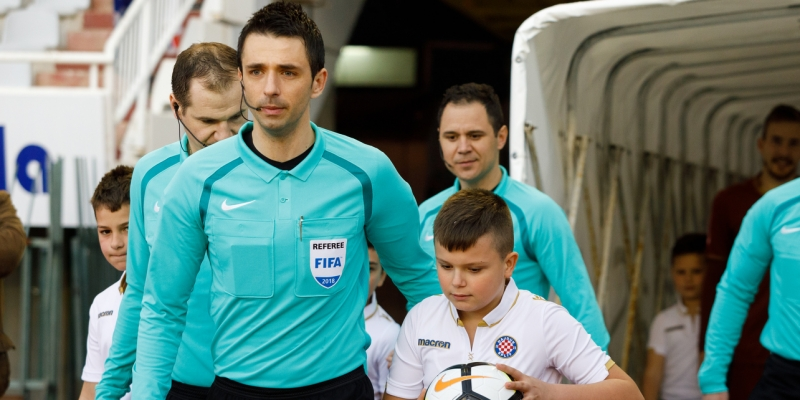 Match officials for Osijek - Hajduk