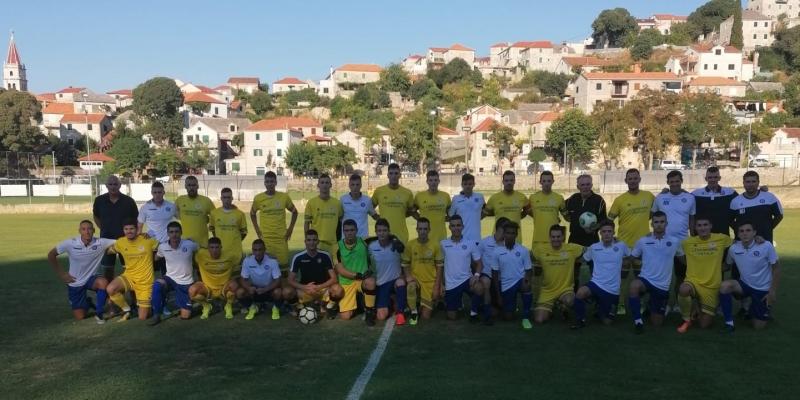 Brač: Juniori II odigrali prijateljsku utakmicu s NK Postira Sardi