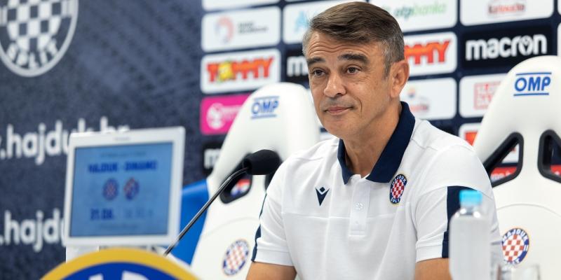 Coach Burić ahead of the match with Osijek