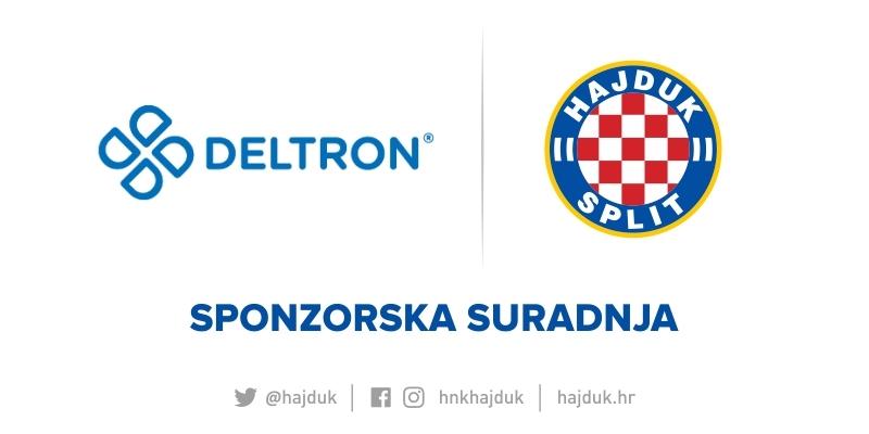 Hajduk and Deltron sign a sponsorship agreement