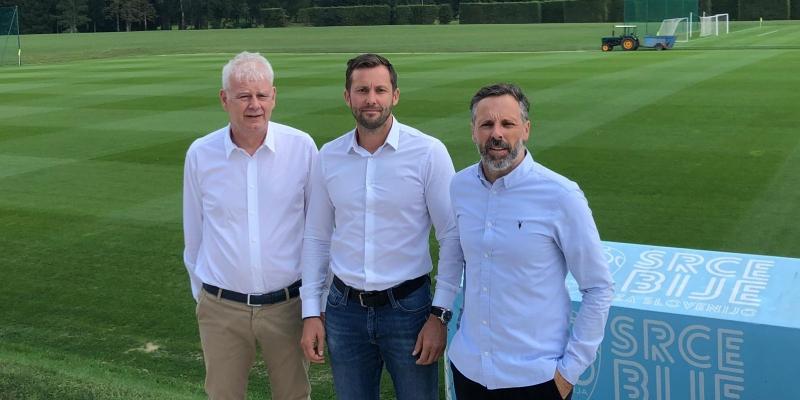 Predsjednik i dopredsjednik Kluba posjetili Kamp Nogometnog saveza Slovenije