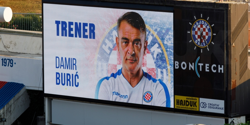 Hajduk leading the table!
