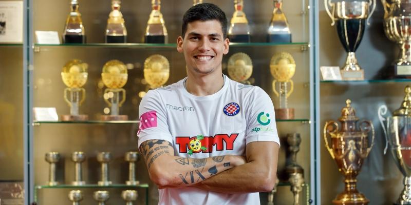 Iván Bulos a new Hajduk player!