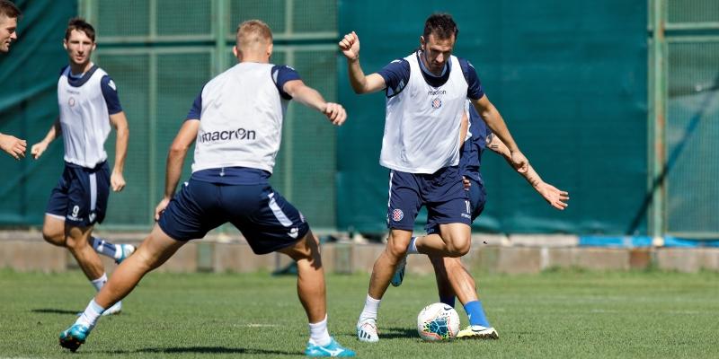 Hajduk preparing for the match with Inter Zaprešić