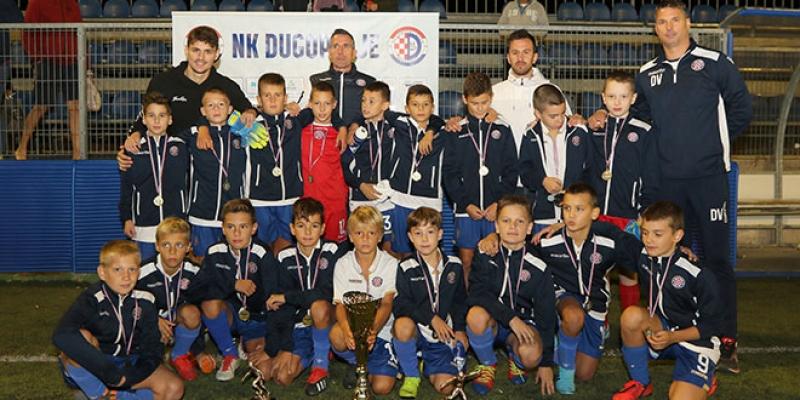 Mladim hajdukovcima prvo i drugo mjesto na turniru u Dugopolju