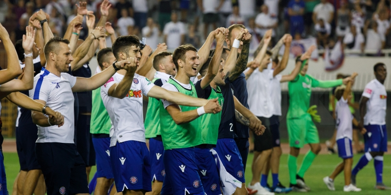 Hajduk na čelu lige: Bijeli s najviše golova, bodova i brojem gledatelja