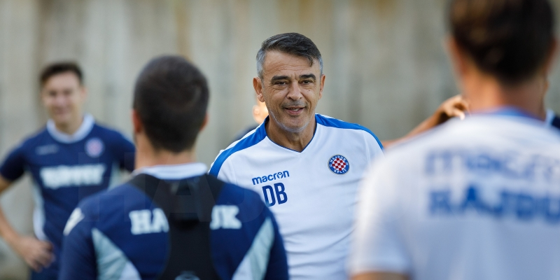 Coach Burić ahead of the Cup match with Mladost Petrinja