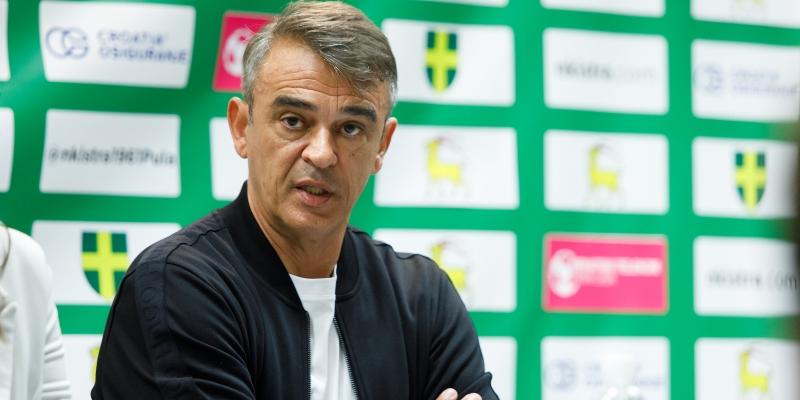 Trener Burić nakon remija na Aldo Drosini