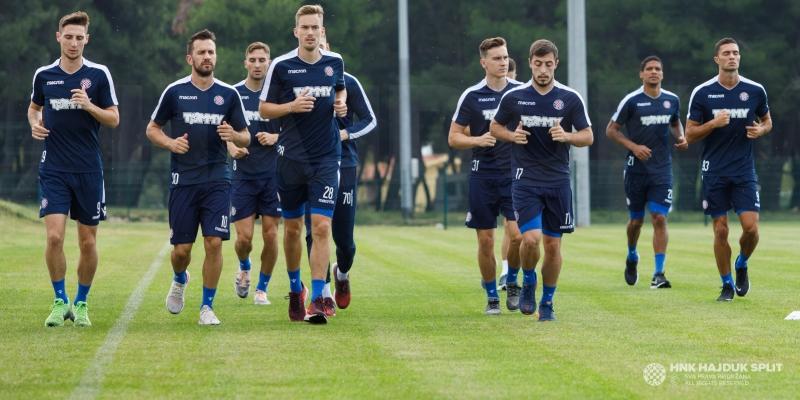 Hajdukovci jutros trenirali u Medulinu