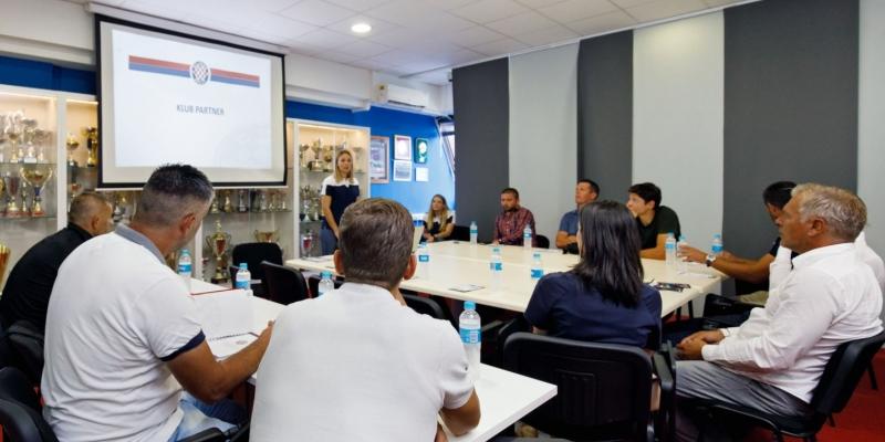 Sastanak HNK Hajduk i klubova partnera na temu suradnje na području pedagogije