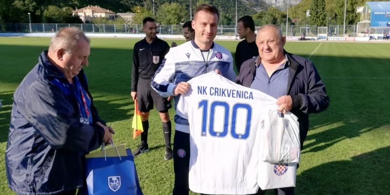 Hajduk II uveličao proslavu 100. rođendana NK Crikvenice 1919