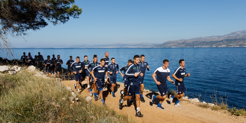Last day on the island of Brač: Training session in Lovrečina bay